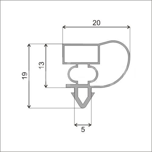 Схема профиля Е1