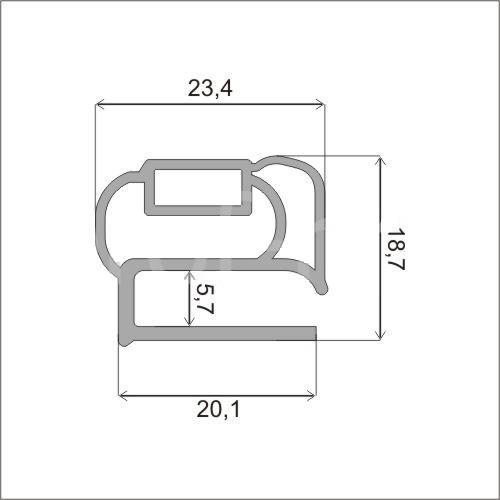 Схема профиля Р2